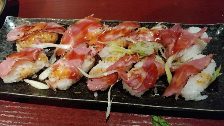 蒲田 肉ガーデン蒲田店の口コミレビュー。久々に寿司がまずいと感じたお店でした